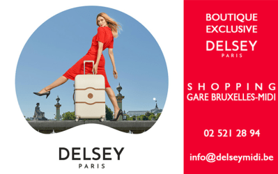 Delsey – Bagagerie, marroquinerie – 1060 Bruxelles