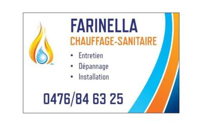 Farinella Chauffage – Chauffage et plomberie – 6180 Courcelles
