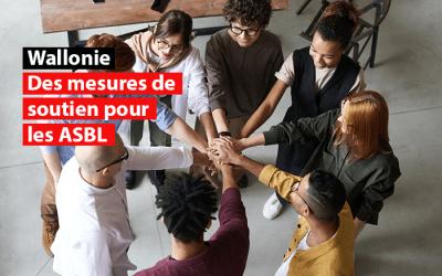 Wallonie : Des mesures de soutien pour les ASBL