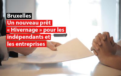 Un nouveau prêt « Hivernage » pour les indépendants et les entreprises bruxellois