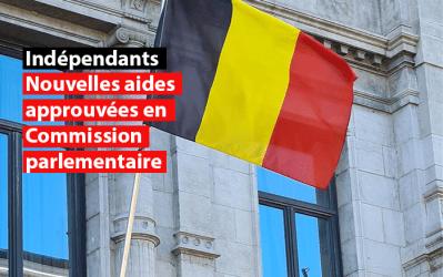 Les nouvelles aides aux indépendants approuvées en Commission parlementaire
