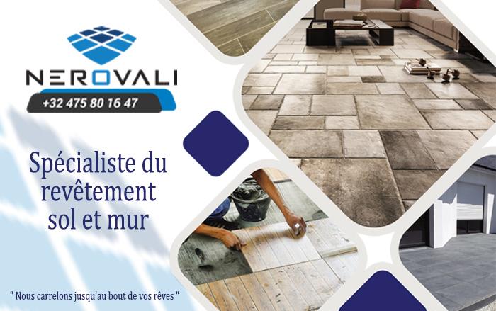 Cevat Nerovali – Revêtement sol et mur – 1030 Bruxelles