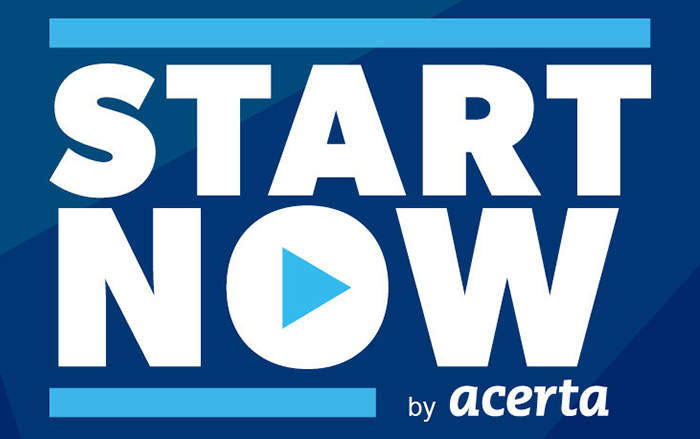 start now digital acerta