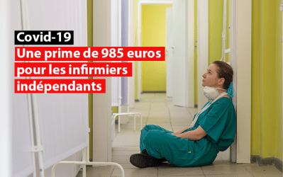 Covid-19 – Une prime de 985 euros pour les infirmiers indépendants