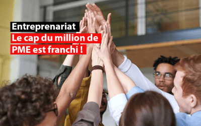 Entreprenariat : Le cap du million de PME est franchi !