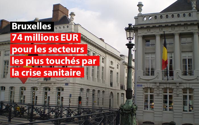 bruxelles 74 millions eur pour les secteurs les plus touches par la crise