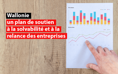 Wallonie : un plan de soutien à la solvabilité et à la relance des entreprises