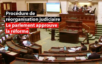Procédure de réorganisation judiciaire : le parlement approuve la réforme
