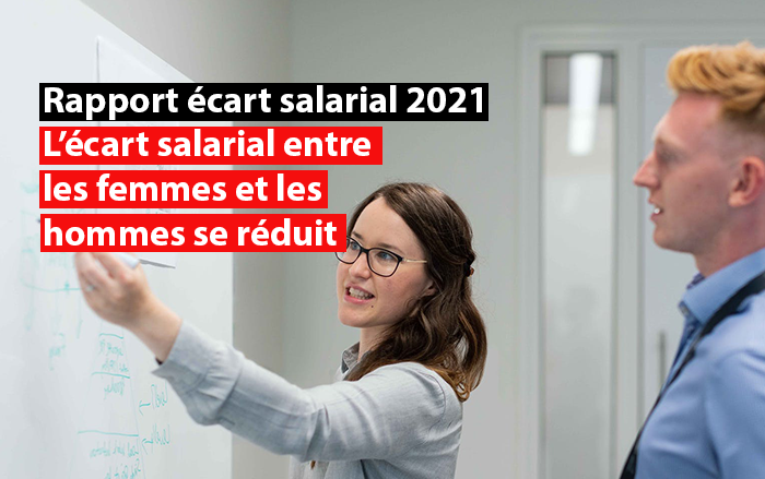 ecart salarial entre les femmes et les hommes se réduit