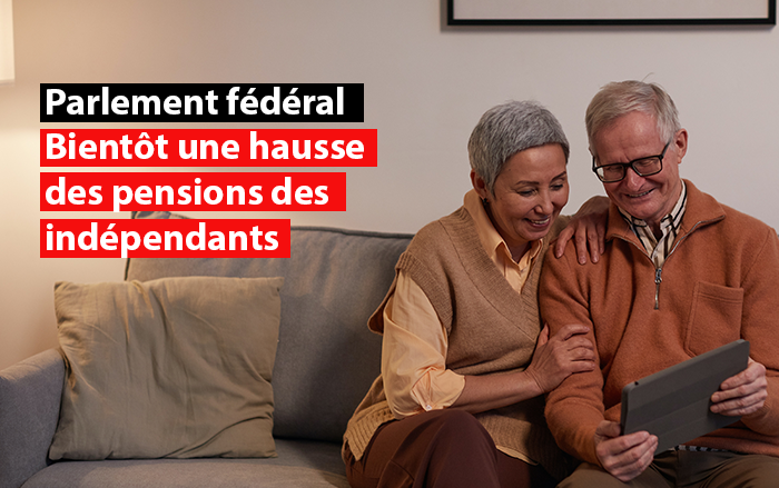 parlement federal hausse pensions indépendants sdi federation