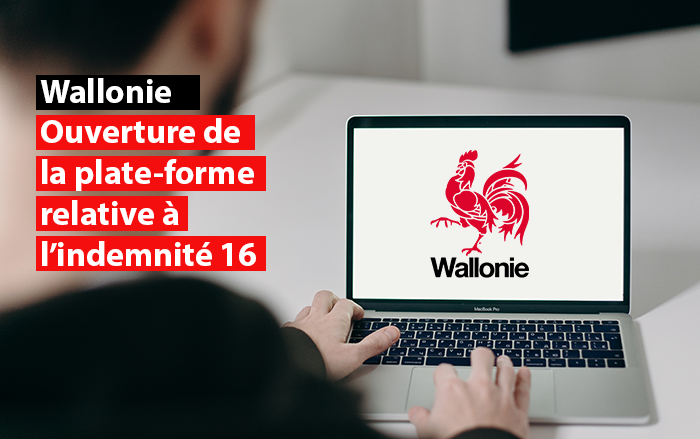 wallonie ouverture plate-forme indemnite 16 sdi federation