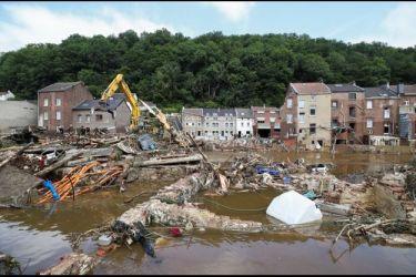 Inondations : les aide wallonnes aux entreprises sinistrées