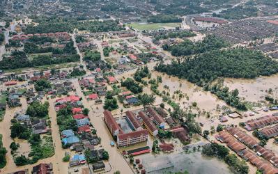 Inondations : chômage temporaire dû aux conditions météo exceptionnellement mauvaises