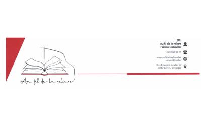 Au fil de la reliure – reliure notarial – 6040 JUMET