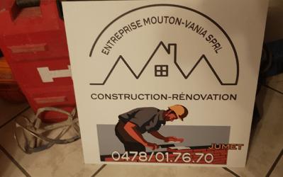 Mouton Vania – bâtiment & rénovation – 6040 Jumet